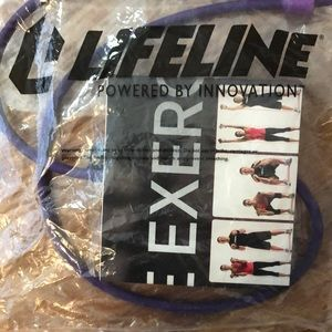 Lifeline fitness cable purple